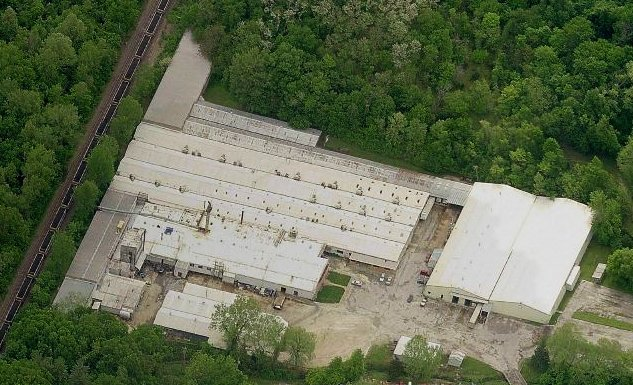 Aerial view of New Haven Facility
